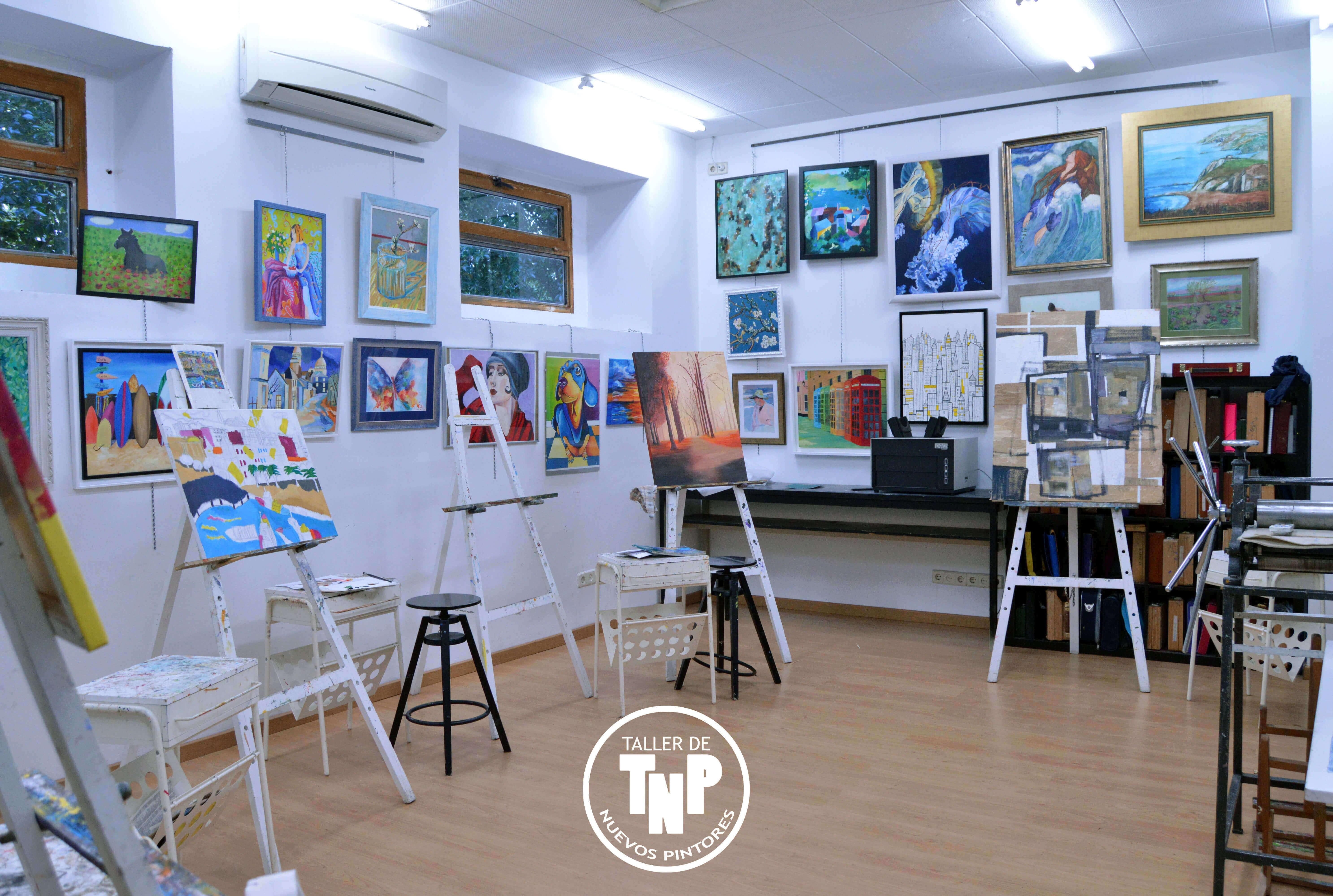 Taller de nuevos pintores directorio art stico totenart - Empresa de pintores en madrid ...