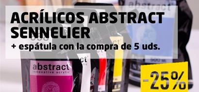 Acrílicos Abstract Sennelier -25%