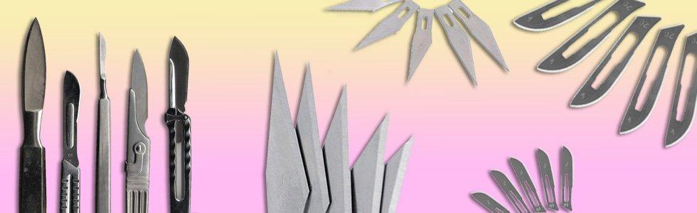Bisturi - Escalpelo - Cuchillas