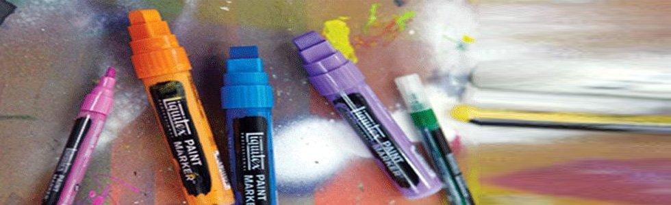 Rotuladores Acrilicos Liquitex Paint Marker