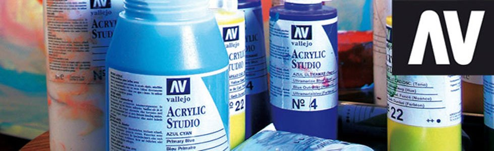 Pinturas acrílicas Vallejo Studio