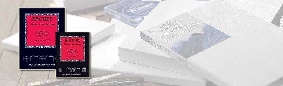 Blocs de papel para pintura acrilica