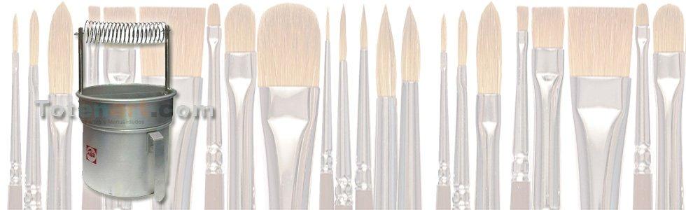 Estuches y accesorios para pinceles