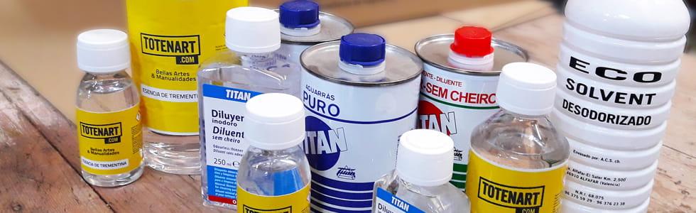 Disolventes y diluyentes para oleo