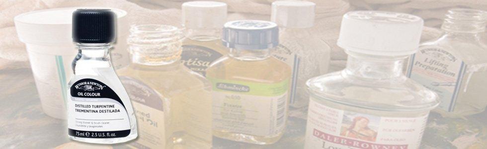 Disolventes y diluyentes para óleo