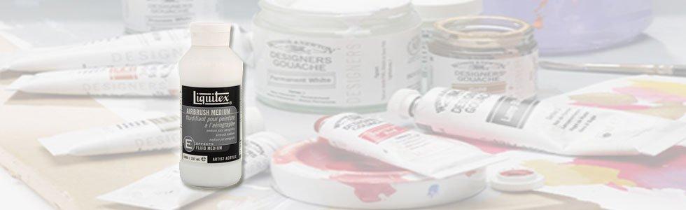Mediums y aditivos para gouache