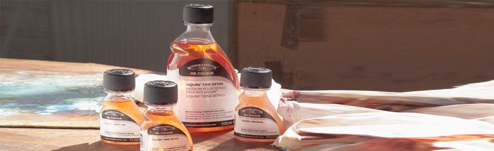 Mediums para pintura al Oleo
