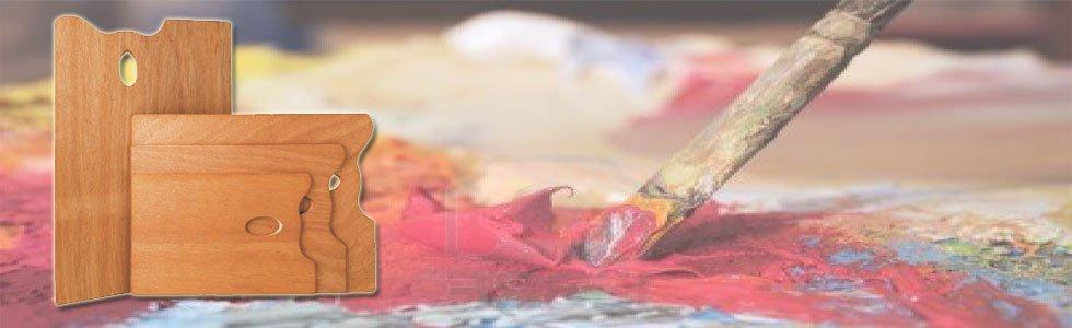 Paletas para pintura al óleo