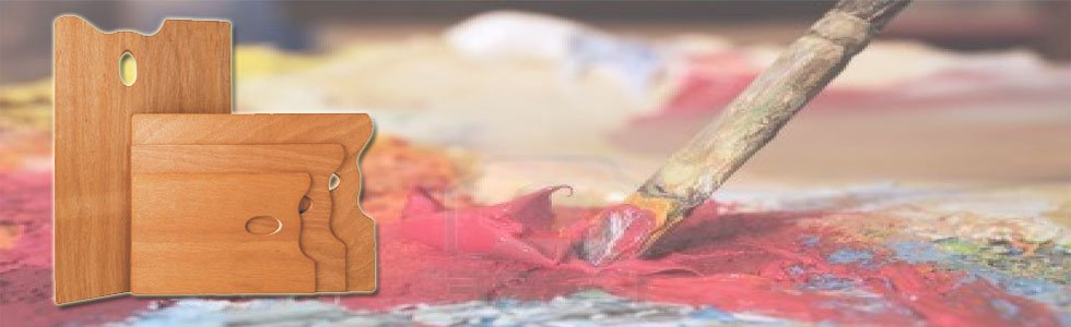 Paletas para pintura acrílica
