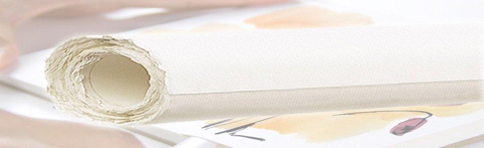 Rollos de papel para pintar con acuarela