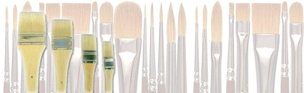 Pinceles de paletina para óleo