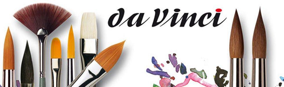 Pinceles sinteticos de mango corto Da Vinci Forte
