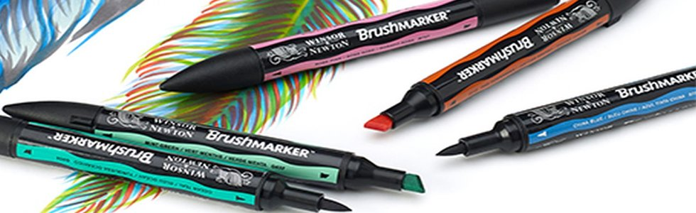 Rotuladores Brushmarker Winsor Newton