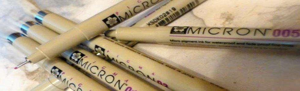 Rotuladores calibrados Pigma Micron Sakura