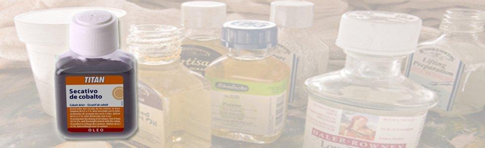 Secativos para óleo