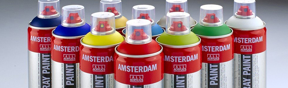 Pintura en spray Amsterdam acrilica