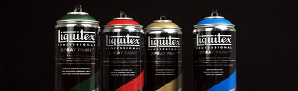 Spray acrilico Liquitex de color