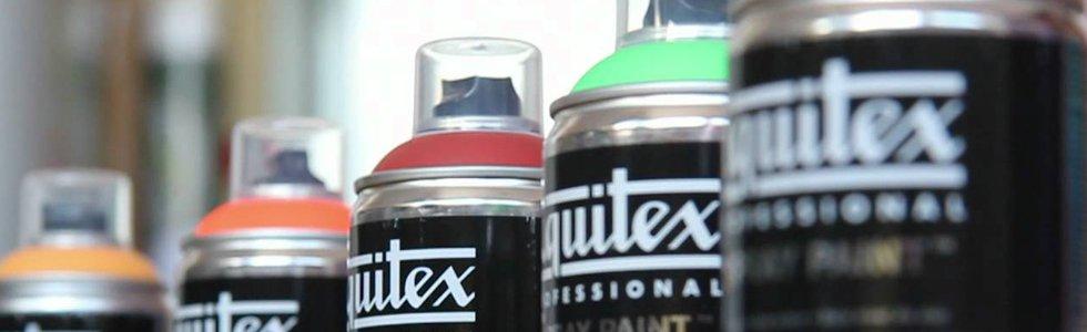 Pintura en spray Liquitex acrilica