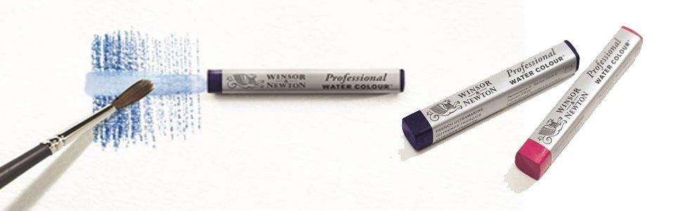 Acuarelas en barra Winsor & Newton