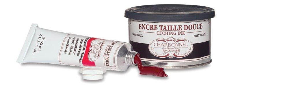 Tintas tradicionales para grabado Charbonnel