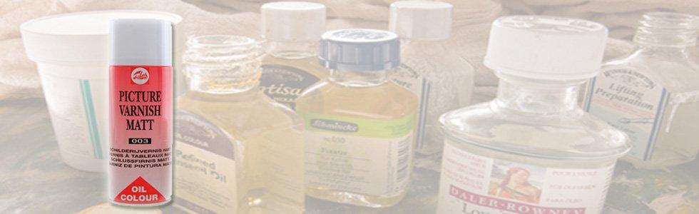 Barnices para oleo