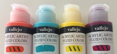 -15% Fluid Vallejo Acrylic Paints