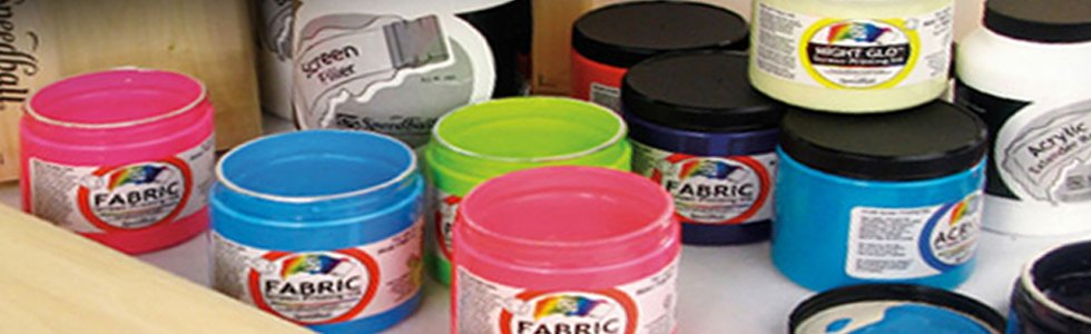 Tintas serigrafia al agua Speedball: Textil, Papel, Carton