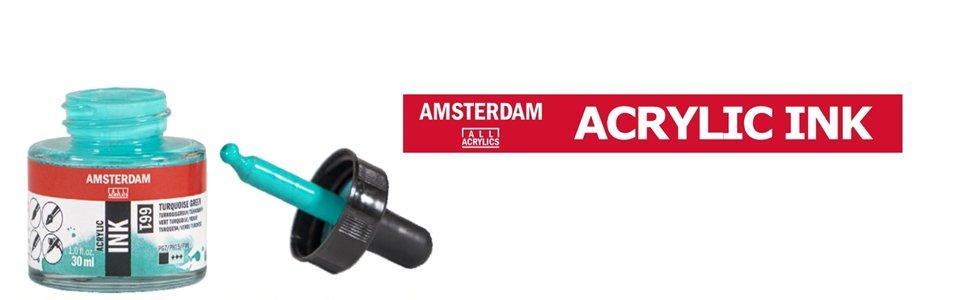 Tinta acrílica aerografia Amsterdam