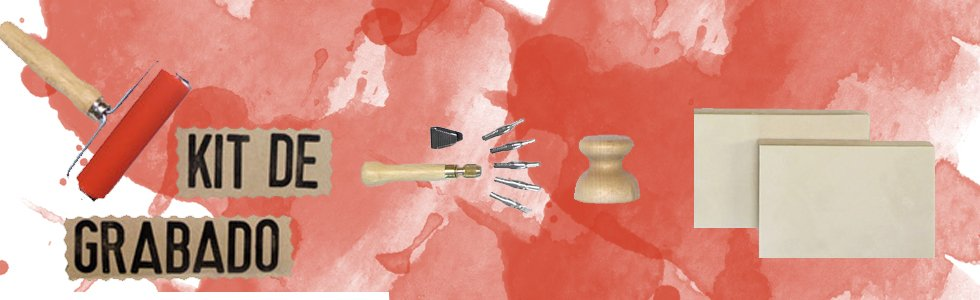 Kit de grabado calcográfico