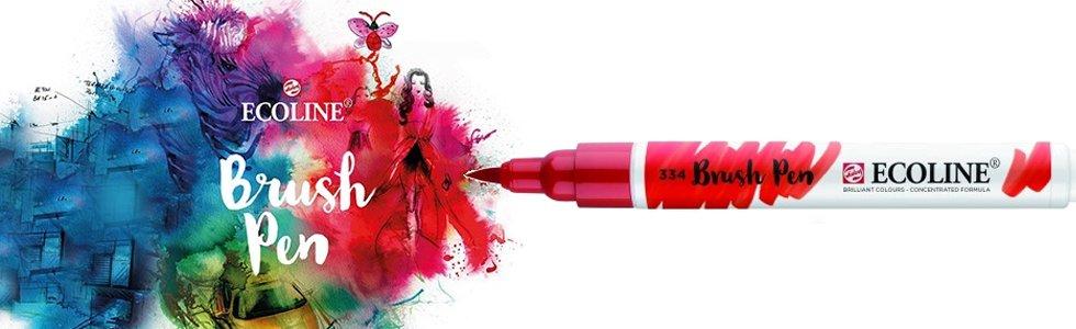 Rotuladores de Acuarela Ecoline Brush Pen