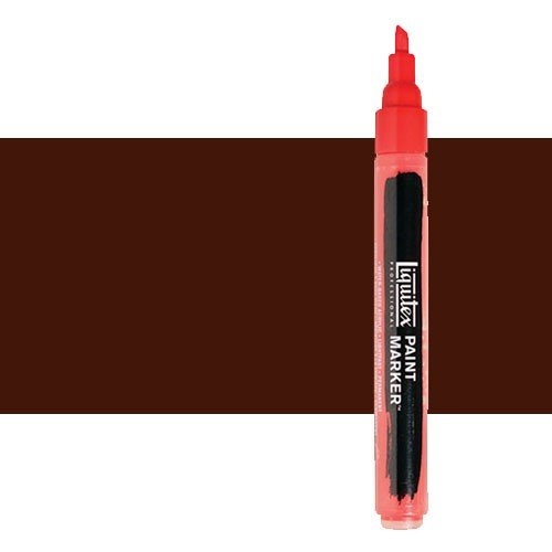 Rotulador Liquitex Paint Marker color Tierra Sombra Tostada (2 mm)