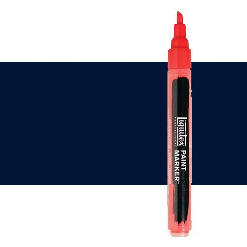 Rotulador Liquitex Paint Marker color tono azul de Prusia (2 mm)