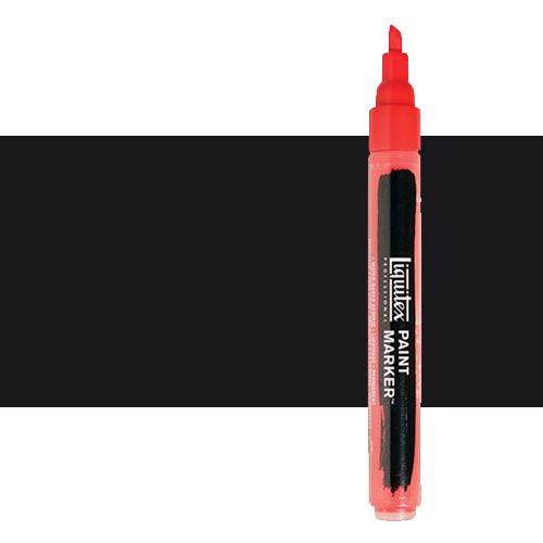 Rotulador Liquitex Paint Marker color negro de carbón (2 mm)