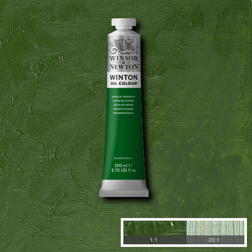 Óleo Winsor & Newton Winton color Óxido de cromo (200 ml)
