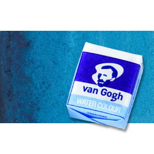 Acuarela Van Gogh en pastilla color azul turquesa, 522