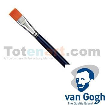 Pincel sintético Van Gogh serie 294 plano (nº 04)