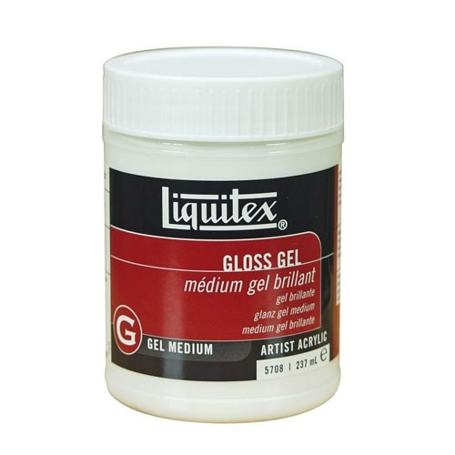 Gel Medium Brillante, Liquitex 237 ml.
