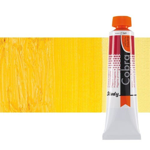 Óleo al agua Cobra Study color amarillo permanente medio (200 ml)