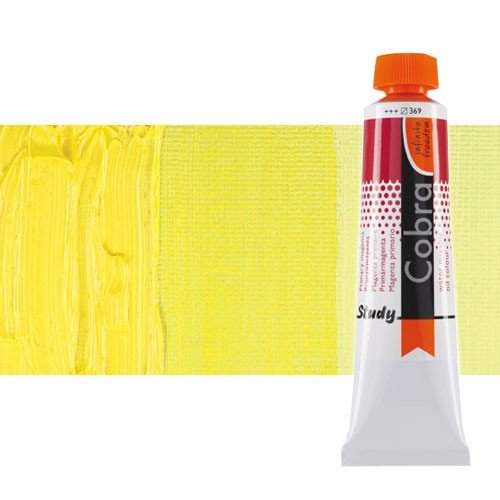 Óleo al agua Cobra Study color amarillo limón permanente (200 ml)