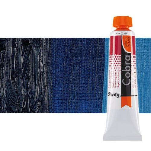 Óleo al agua Cobra Study color azul de Prusia (200 ml)