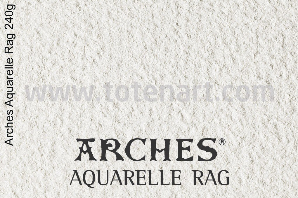 Infinity Arches Aquarelle Rag, 310 gr., A3+, caja 25 uds.**