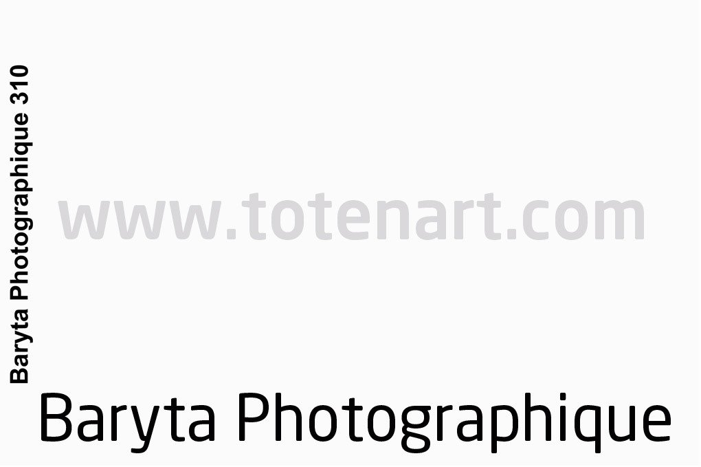 Baryta Photographique, 310 gr., Rollo 1,27x15,24 mts.**