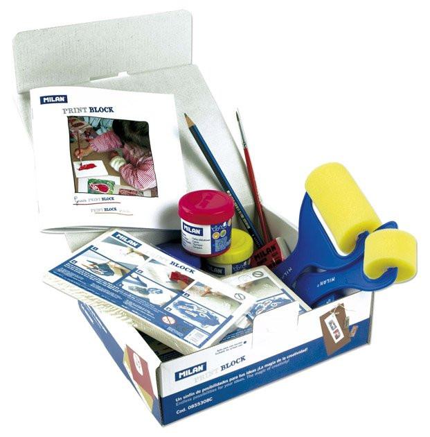 Milan Kit Print Block con manual