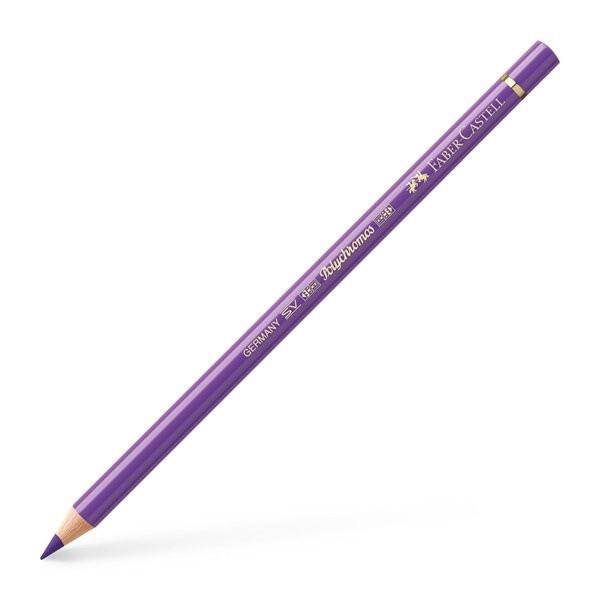 Lápiz polychromo Faber Castell violeta 138 **NULO DUPLICADO**
