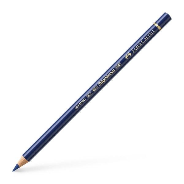 Lápiz polychromo Faber Castell azul de idanteno 247