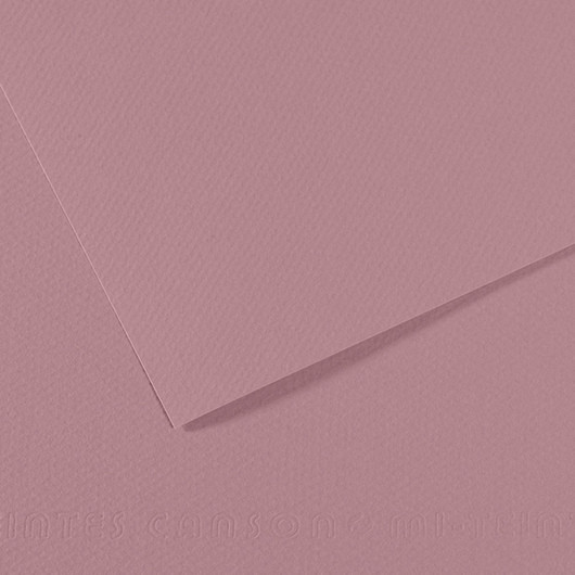 Mi-teintes Canson Rosa Oscuro, 160 gr., 50x65 cm. (352)