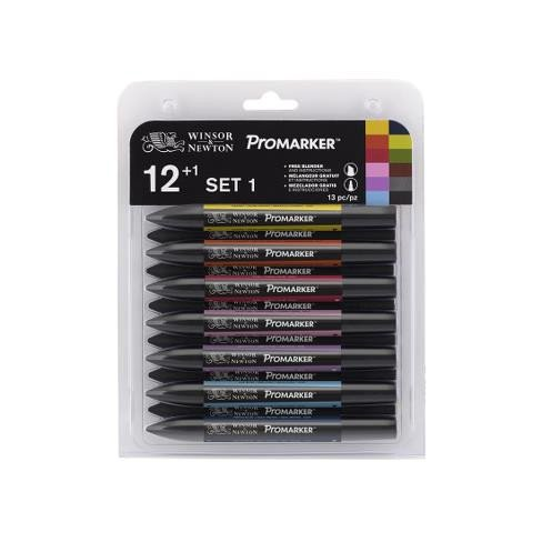 Rotuladores Promarker 12 + 1 set 1