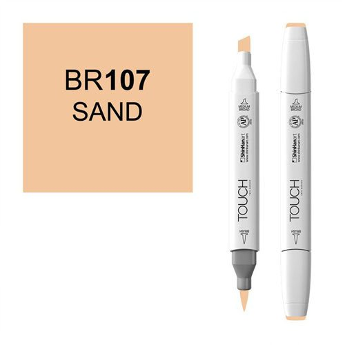 Rotulador alcohol TOUCH TWIN Sand n. BR107
