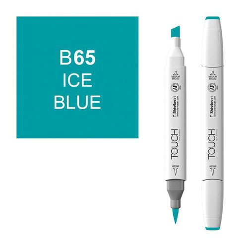 Rotulador alcohol TOUCH TWIN Ice Blue n. B65