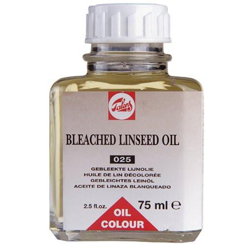 Aceite de linaza blanqueado Talens, 75 ml